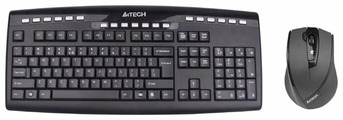 Клавиатура и мышь A4Tech 9200F Black USB