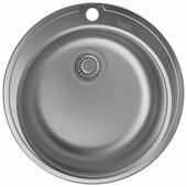 Врезная кухонная мойка IDDIS Focus FOC51M1i77 51х51см нержавеющая сталь