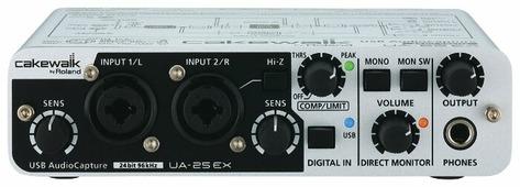 Внешняя звуковая карта Cakewalk UA-25EX