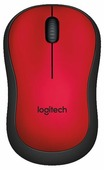 Мышь Logitech M220 SILENT Red USB