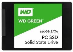 Твердотельный накопитель Western Digital WD GREEN PC SSD 120 GB (WDS120G1G0A)