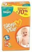 Pampers подгузники Sleep&Play 5 (11-25 кг) 74 шт.