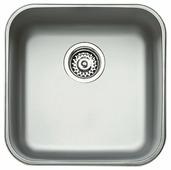 Врезная кухонная мойка TEKA BE 40.40.20 Plus 43.54х43.54см нержавеющая сталь