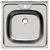 Накладная кухонная мойка UKINOX Standart STD 500.500---4C 0C