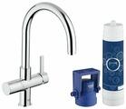 Однорычажный смеситель для кухни (мойки) Grohe Blue 33249001