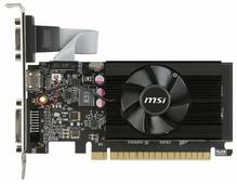Видеокарта MSI GeForce GT 710 954Mhz PCI-E 2.0 1024Mb 1600Mhz 64 bit DVI HDMI HDCP Low Profile