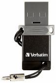 Флешка Verbatim Dual Drive OTG/USB 2.0