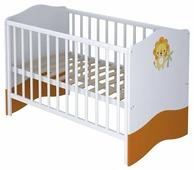 Кроватка Polini Basic Джунгли 140х70 (классическая)