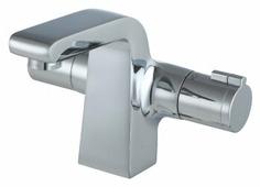 Термостатический двухрычажный смеситель для кухни (мойки) Lemark Yeti LM7836C
