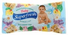 Влажные салфетки Superfresh Baby для детей и мам с ромашкой