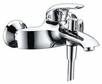 Однорычажный смеситель для ванны с душем WasserKRAFT Rossel 2801