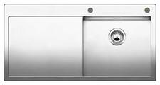 Интегрированная кухонная мойка Blanco Claron 5S-IF 100х51см нержавеющая сталь