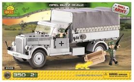 Конструктор Cobi Small Army World War II 2449 3-хтоннный грузовик Opel Blitz