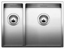 Врезная кухонная мойка Blanco Claron 340/180-U 58.5х44см нержавеющая сталь