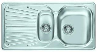 Врезная кухонная мойка FRANKE MON 651 96.5х50см нержавеющая сталь