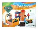 Магнитный конструктор Genii Creation BR10082 Спальная комната