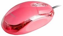 Мышь DENN DOM410PG Pink USB