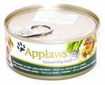 Корм для собак Applaws курица, печень с овощами 156г