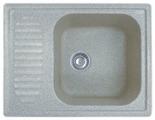 Врезная кухонная мойка GranFest Standart GF-S645L 64.5х50см искусственный мрамор