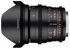 Объектив Rokinon 20mm T1.9 Nikon F