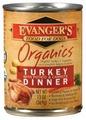 Корм для собак Evanger's Organic Turkey with Potato & Carrots Dinner консервы для собак
