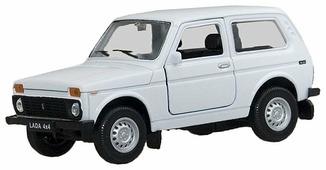 Внедорожник Welly Lada 4x4 (42386)