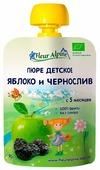 Пюре Fleur Alpine яблоко и чернослив (с 5 месяцев) 90 г, 1 шт