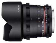 Объектив Samyang 10mm T3.1 ED AS NCS CS VDSLR II Micro 4/3