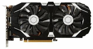 Видеокарта MSI GeForce GTX 1060 1544MHz PCI-E 3.0 3072MB 8008MHz 192 bit DVI HDMI HDCP