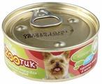 Корм для собак Экzooтик Консервы для мелких пород с курицей