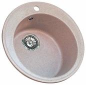 Врезная кухонная мойка Granicom G-009 48х48см искусственный мрамор