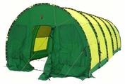 Палатка Век Ангар большой 3,5х2,5х7,5 с дном