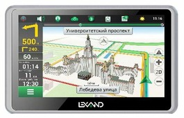 Навигатор LEXAND SB5 PRO HDR