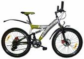 Подростковый горный (MTB) велосипед Russbike Tech 1800 24 (JK520)