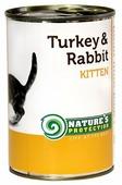 Nature's Protection Корм для кошек Nature s Protection Консервы Kitten Turkey & Rabbit