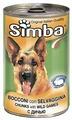 Корм для собак Simba Консервы Кусочки для собак Дичь