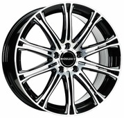 Колесный диск Borbet CW 1 8x17/5x120 D72.5 ET35 Black Polished