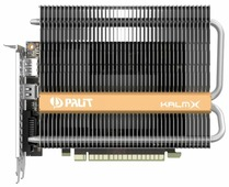 Видеокарта Palit GeForce GTX 1050 Ti 1290Mhz PCI-E 3.0 4096Mb 7000Mhz 128 bit DVI HDMI HDCP KalmX