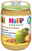 Каша HiPP безмолочная овсяная с абрикосами и яблоками (с 6 месяцев) 190 г