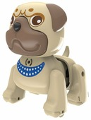 Интерактивная игрушка робот Silverlit LilPuppies Мопс
