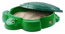 Песочница-бассейн Little Tikes Черепаха с крышкой (631566)