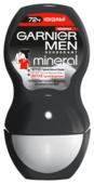 Дезодорант-антиперспирант ролик Garnier Men Mineral Черное, белое, цветное