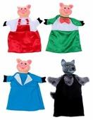 Весна Кукольный театр набор персонажей с ширмой №2 (В2929)
