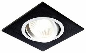 Встраиваемый светильник Ambrella light A601 BK, сатин/черный