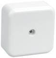 Распределительная коробка IEK КМ41206 наружный монтаж 50x50 мм