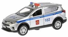 Внедорожник ТЕХНОПАРК Toyota RAV4 Полиция (RAV4-P-SL) 12 см