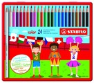 STABILO Цветные карандаши color 24 цвета (1824-77)