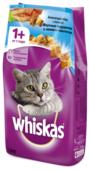 Корм для кошек Whiskas Вкусные подушечки с нежным паштетом с лососем
