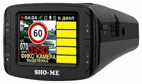 Видеорегистратор с радар-детектором SHO-ME Combo 3 iCatch