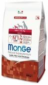 Корм для собак Monge Speciality line для здоровья кожи и шерсти, ягненок с рисом, с картофелем (для мелких пород)